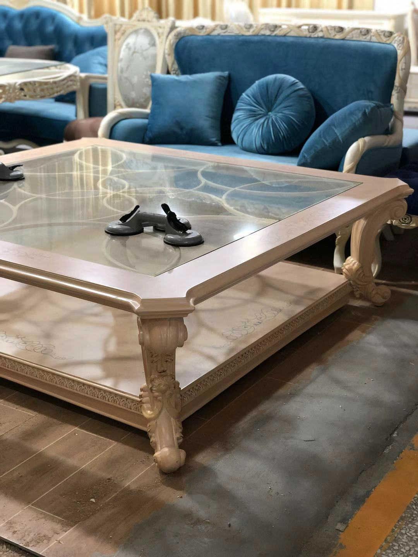 新古典法式实木家具_茶几