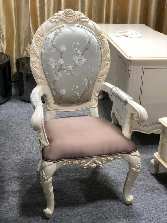 古典欧式实木家具_餐椅