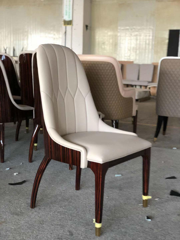 高端轻奢家具定制_实木餐椅
